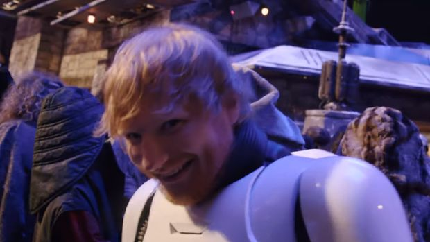 Ed Sheeran Jadi Cameo di 'Star Wars: The Rise of Skywalker'