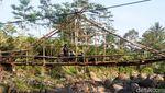 Potret Jembatan Antar Kabupaten di Jawa Tengah yang Memprihatinkan