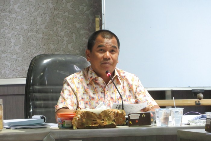 Wakil Ketua Komisi A DPRD Sulsel Rahman Pina (Noval/detikcom)