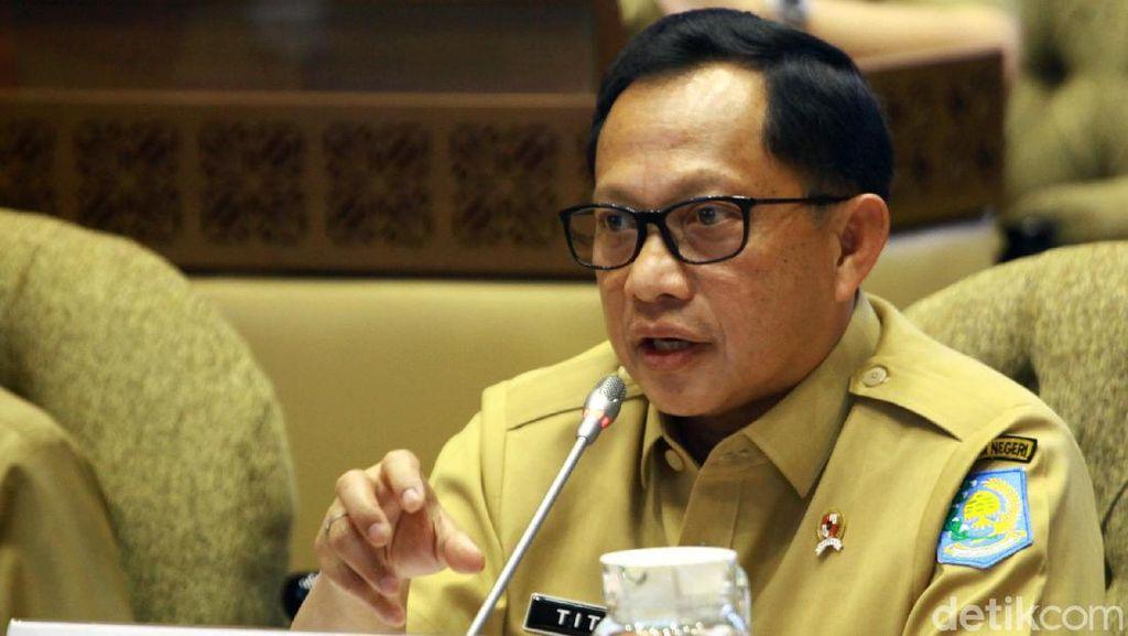 Tito Karnavian Bahas Pergeseran Anggaran Kemendagri Bareng DPR