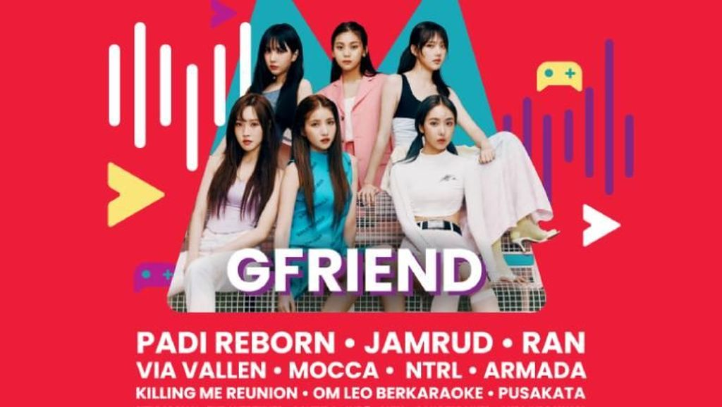 Isi Weekend-mu Bersama GFRIEND di Event Telkomsel Oh My Gig