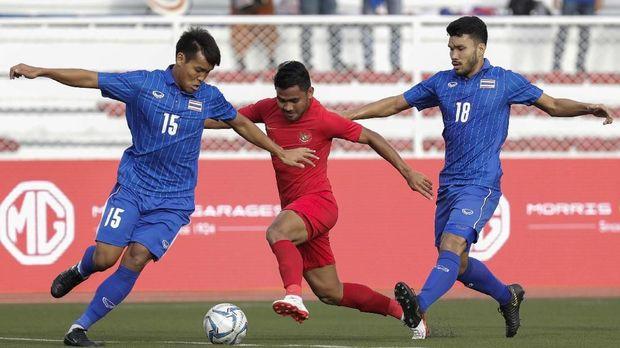 Timnas Indonesia saat mengalahkan Thailand 2-0. (