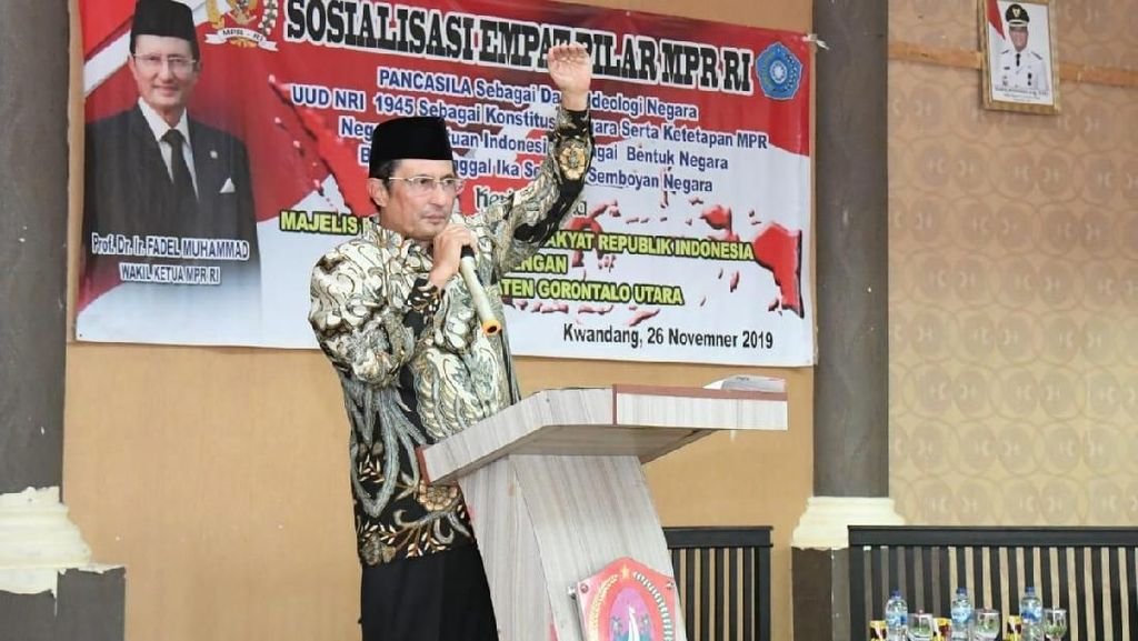 Wakil Ketua MPR Ungkap 3 Potensi Gorontalo yang Harus Dikembangkan