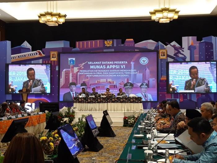 Musyawarah APPSI (Rahel/detikcom)