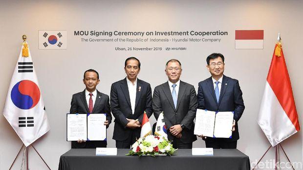 MoU Hyundai dan pemerintah Indonesia