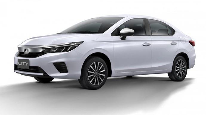 Honda Rilis Sedan City Generasi Baru