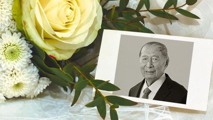 Ciputra, meninggal dunia di usia 88 tahun. Foto: Andhika Akbarayansyah/Tim Infografis