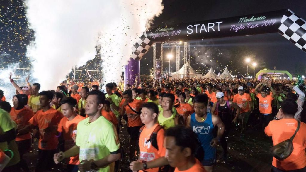 2.500 Pelari Ramaikan Meikarta Night Run