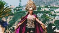 Cantiknya Indonesia, Gaya Agnez Mo Pakai Kebaya Modern