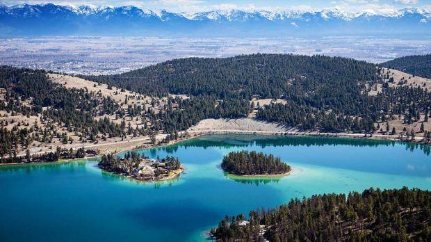 Pulau Pribadi Yang Bisa Dimiliki di Montana