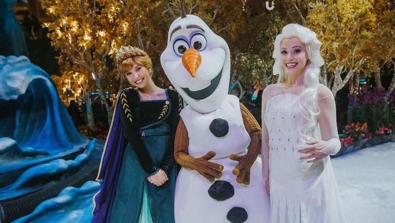Frozen Wonderland di Bandara Changi (Foto: Dok. Changi Airport)