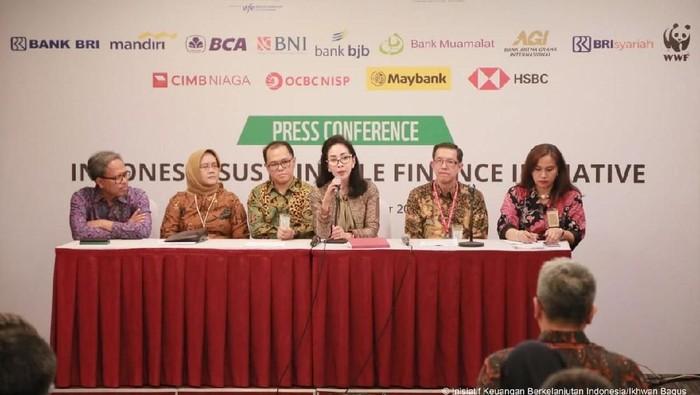 5 Bank Gabung dengan Inisiatif Keuangan Berkelanjutan Indonesia