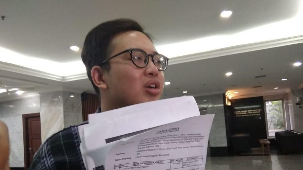 MK Dinilai Tak Profesional, Mahasiswa Cabut Gugatan UU KPK Baru