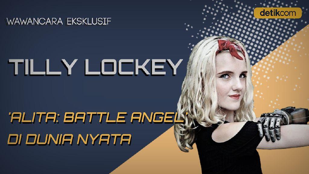 Wawancara Eksklusif Tilly Lockey, Alita: Battle Angel di Dunia Nyata