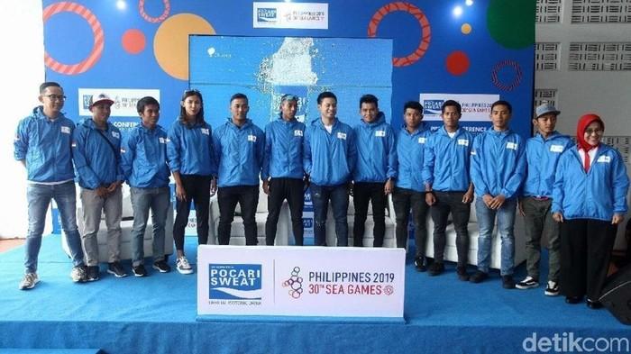 Atlet Indonesia di Sea Games 2019 (Foto: detikcom)