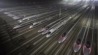 Dalam waktu kurang dari 15 tahun terakhir, China telah mengungguli seluruh dunia.Teknologi awal kereta cepat China adalah hasil panen dari Jepang dan Eropa Barat (Foto: CNN)