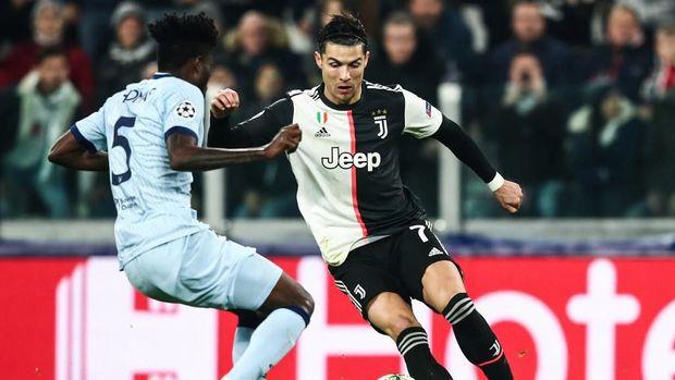 Ronaldo menjalani musim kedua di Juventus.