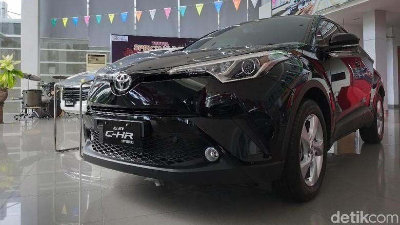 Toyota di Balikpapan Foto: Luthfi Anshori