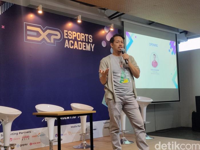 Project Lead EXP Esports Academy, Guntur Sarwohadi. Foto: Virgina Maulita Putri/detikinet