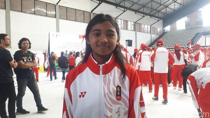 Kyandra Kailana Susanto, atlet termuda Indonesia ke SEA Games 2019. (Mercy Raya/detikSport)