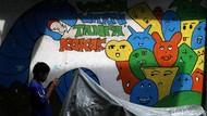 Potret Kampung Warna-warni dan Bebas Asap Rokok di Ibu Kota