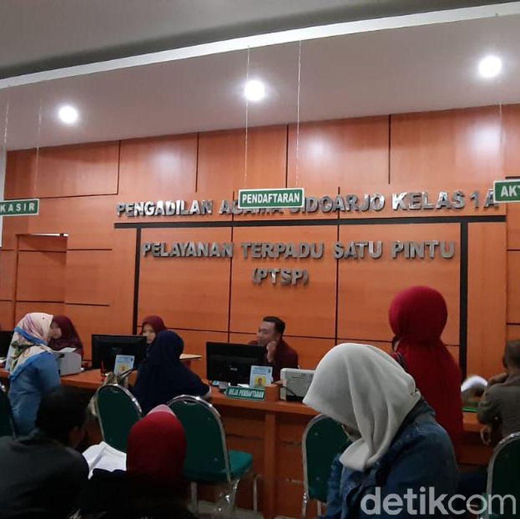 Jelang Akhir Tahun Perceraian di Sidoarjo Meningkat, Didominasi Faktor Ekonomi