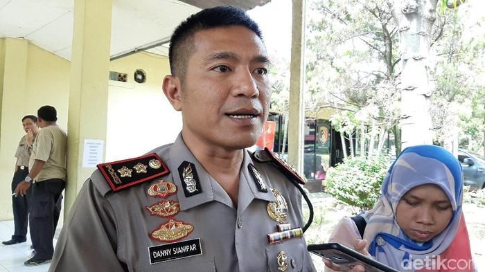 Kapolres Banyuasin AKBP Danny Sianipar (Raja Adil Siregar/detikcom)