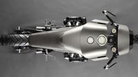 Dengan memiliki tubuh klasik, Honda Goldwing 1.000cc kelahiran 1977 ini berubah menjadi motor yang menakutkan. Serta terlihat memiliki desain layaknya motor masa depan di bawah rumah modifikasi Death Machines of London, seperti dikutip visordown. Foto: Pool (visordown)