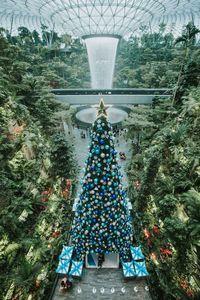 Ada Negeri Frozen 2 di Bandara Negara Tetangga Indonesia