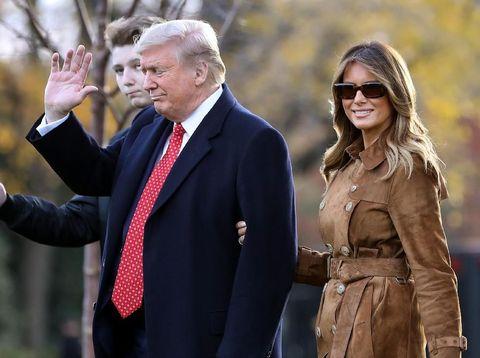Melania Trump Tidur di Lantai Terpisah dengan Donald Trump di Gedung Putih