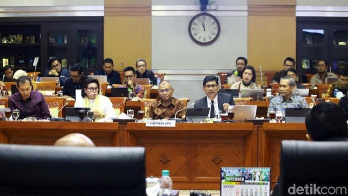 Rapat Komisi III DPR dan KPK (Lamhot Aritonang/detikcom)