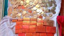Kades di Bone Sulsel Bikin Hoax Temuan Emas Batangan dan Koin Sukarno