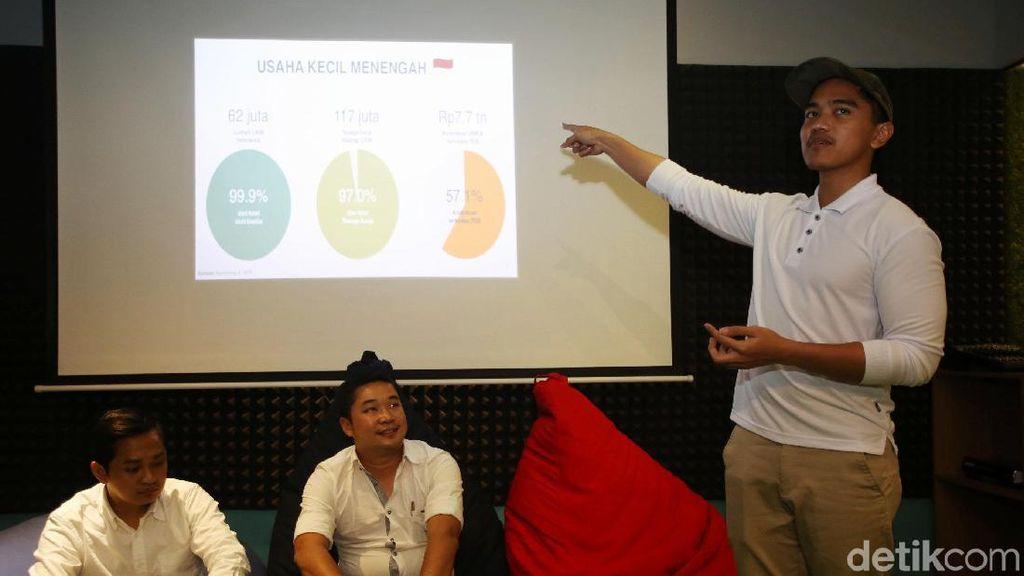 Kaesang Cari Celah Agar Bisnis Jalan saat Pandemi Corona