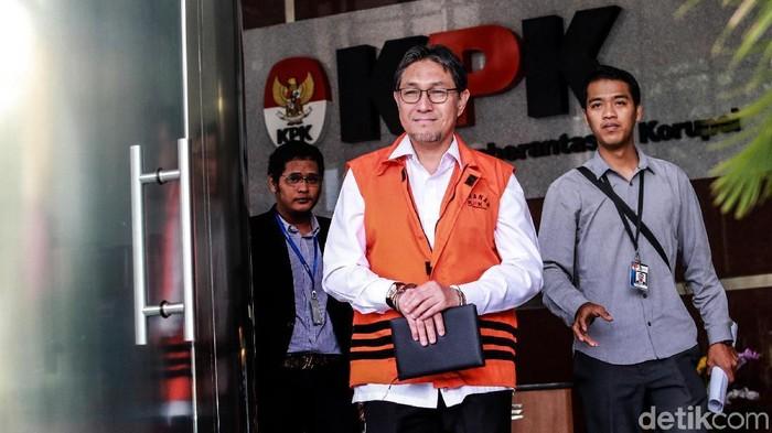 Mantan anggota DPR Fraksi PAN, Sukiman. (Ari Saputra/detikcom)