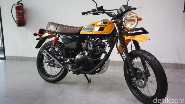 W175 anyar bergaya scrambler dari Kawasaki