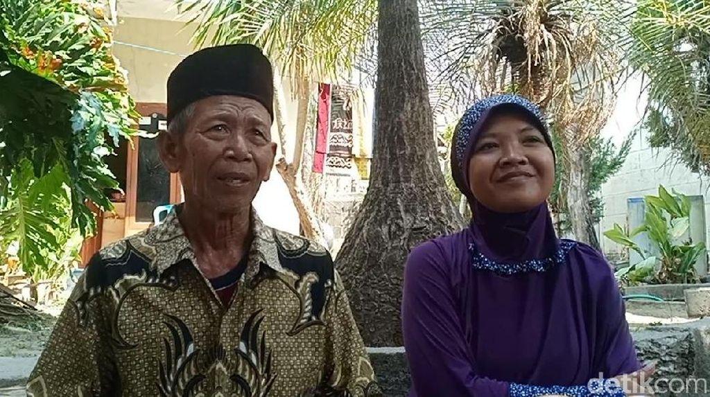 Pernikahan Radi dan Dela yang Terpaut 42 Tahun Usia Disetujui Keluarga