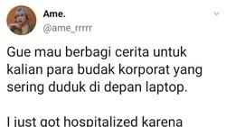 Viral Netizen Budak Korporat Sakit Leher Menahun Karena Kelamaan Kerja