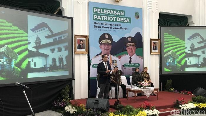 Gubernur Jabar Ridwan Kamil (Mukhlis Dinillah/detikcom)