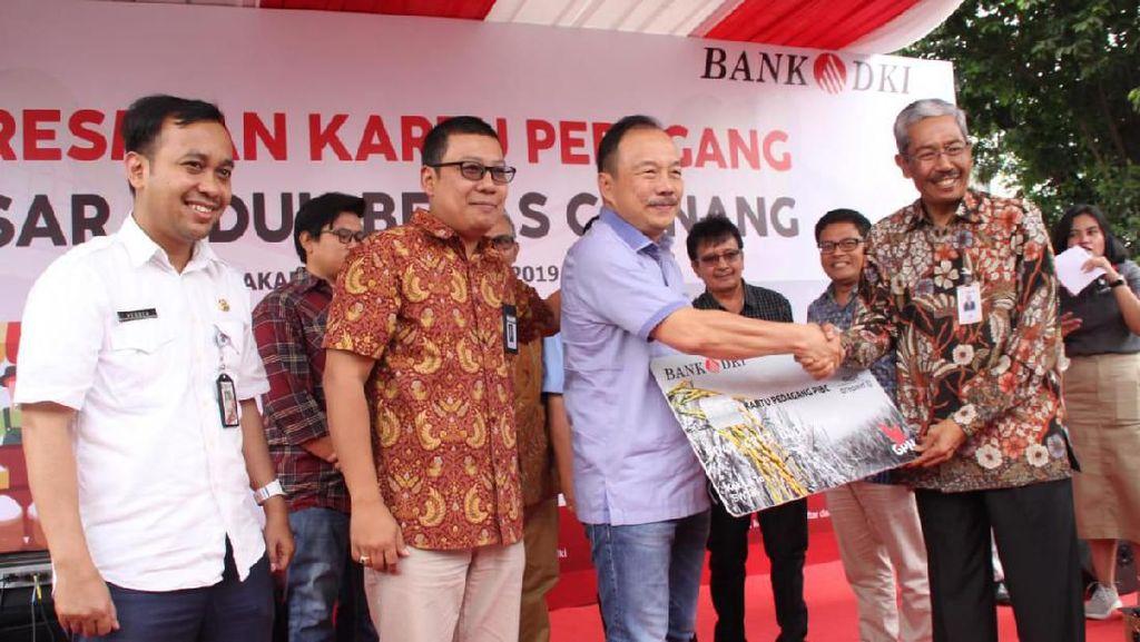 Bank DKI Tawarkan Kredit Mikro ke Pedagang Pasar Induk Beras Cipinang
