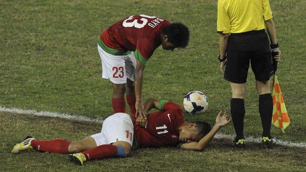 Timnas Indonesia sering terhenti di babak final dan harus puas dengan medali perak usai jadi juara SEA Games 2011.