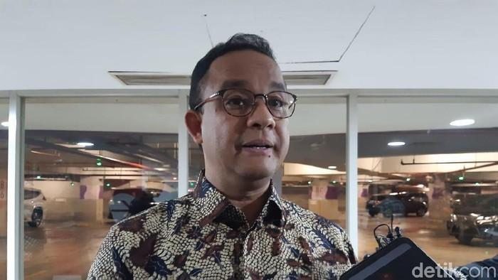 Anies Baswedan (Achmad Dwi Afriyadi/detikcom)