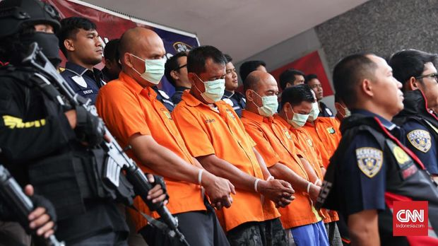 Sebelumnya Satgas Anti Mafia Bola sudah tangkap enam tersangka.