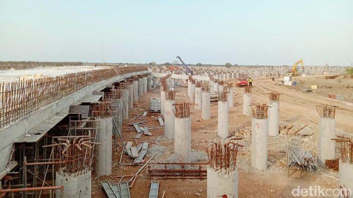 Proyek jalan akses ke Pelabuhan Patimban/Foto: Anisa Indraini