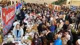 Tempe-Sate Laris di Bazar Amal, KBRI Bratislava Sumbang Dana Kemanusiaan