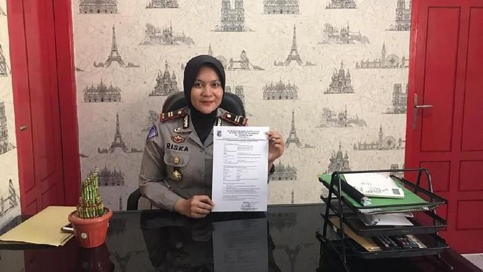 Kasat Lantas Polres Pandeglang Iptu Riska Tria (Foto: Dok. Istimewa)