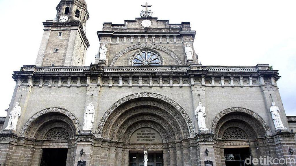 Pesona Katedral Manila, Bangunan Bersejarah di Ibu Kota Filipina