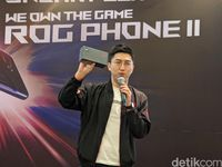 Asus Klaim ROG Phone Satu-satunya Ponsel Gaming