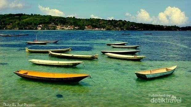 Suasana di tempat budidaya rumput laut (Duwi Dianggoro/d'travelers)