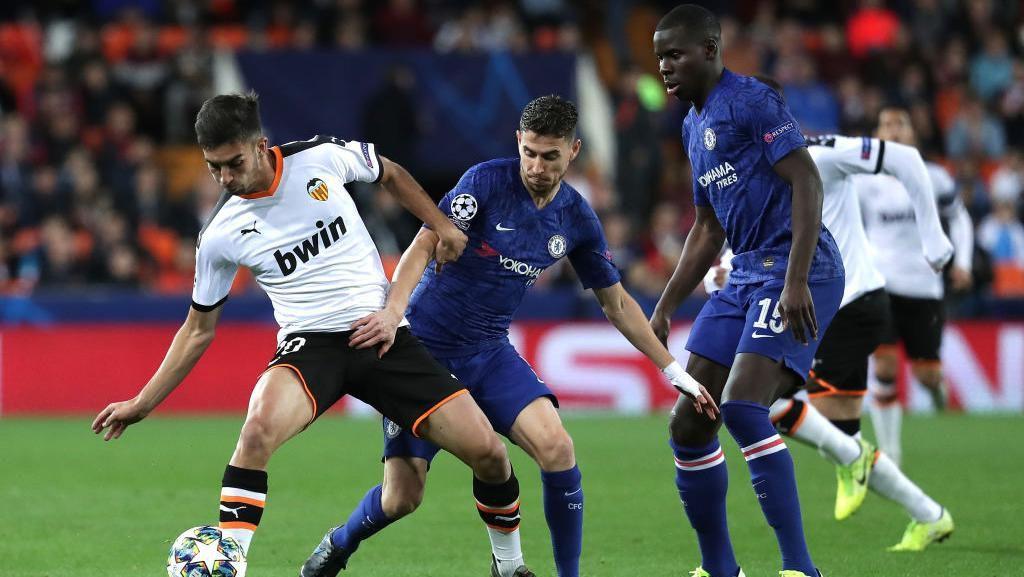 Kepa Selamatkan Chelsea dari Amukan Valencia