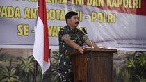 Panglima TNI: Jaga Stabilitas Keamanan Natal-Tahun Baru!